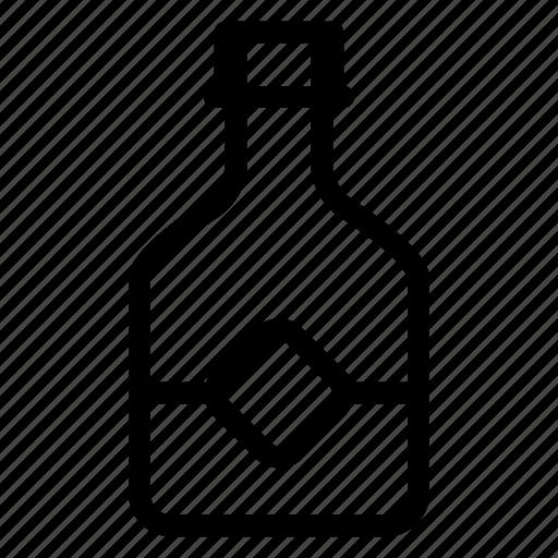alchohol, alcohol, bottle, champagne, drink, milk, wine icon