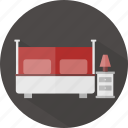 bed, hotel, restaurant icon