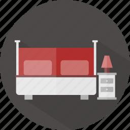 bed, hotel, restaurant icon