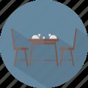 dinner, hotel, restaurant icon