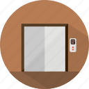 elevator, hotel, restaurant icon