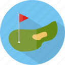 golf, hotel, restaurant icon