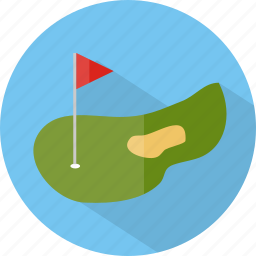 golf, hotel, restaurant icon