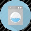 hotel, laundry, restaurant icon