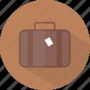 hotel, luggage, restaurant icon