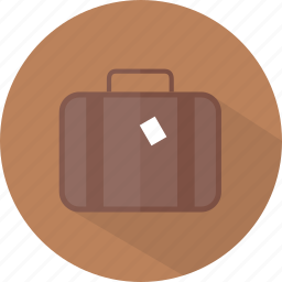 hotel, luggage, restaurant icon