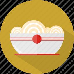 hotel, noodles, restaurant icon