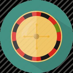 hotel, restaurant, roulette icon