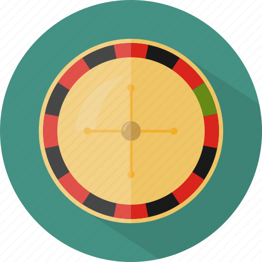hotel, restaurant, roulette icon