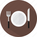 hotel, restaurant, tableware icon