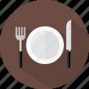 hotel, restaurant, tableware icon