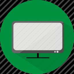 hotel, restaurant, television icon