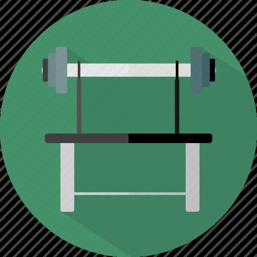 hotel, restaurant, weightlifting icon