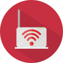 hotel, restaurant, wifi icon