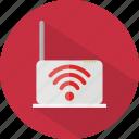 hotel, restaurant, wifi icon
