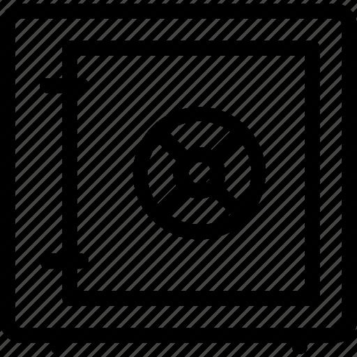 deposit, money, safe, strongbox icon icon