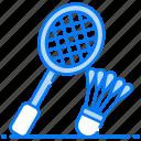 badminton, badminton game, outdoor game, sports, sports equipment icon