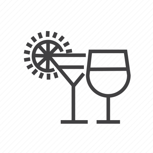 bar, cocktail, drink, juice, wine icon