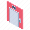 direction, door lift, elevator, lift, passenger lift, up and down icon