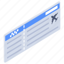 airplane tickets, coupon, plane tickets, travel tickets, traveling tickets icon