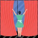 hotel service, housekeeper, housekeeping, room decor, room setting icon
