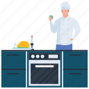 avatar, chef, cook, cuisiner, male chef icon