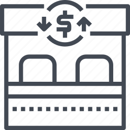 currency, exchange, money, service, transfer icon