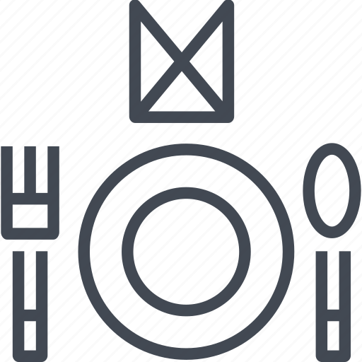 dish, food, restaurant, service icon
