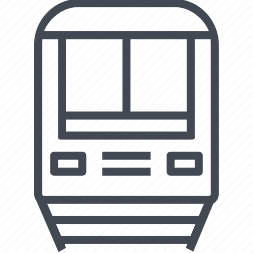 city, movement, public, service, train, transport, transportation icon