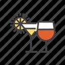 bar, beverage, drink, glass, wine