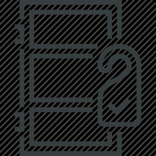 room, service icon
