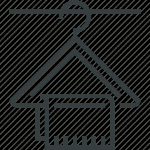 hanger, wardrobe icon