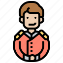 assistant, bellboy, doorman, hotel, service icon