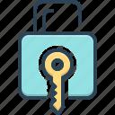 keylock, lock, login, protection, security