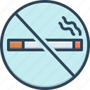 cigarette, forbidden, no smoking, prohibition, smoking, tobacco, unhealthy