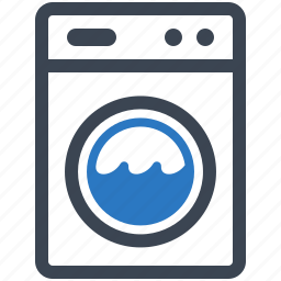 cleaning, laundry service, washing machine icon