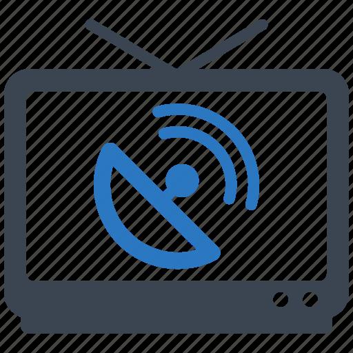 satellite dish, television, tv icon