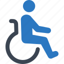 disability friendly, disabled, handicap, wheelchair icon