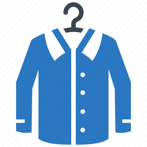 dry cleaning, hanger, laundry, shirt, washing icon