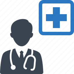 doctor, first aid, healthcare, medical, stethoscope icon