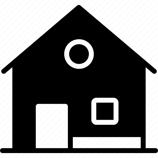 architecture, building, construction, cottage, home, house, residential icon