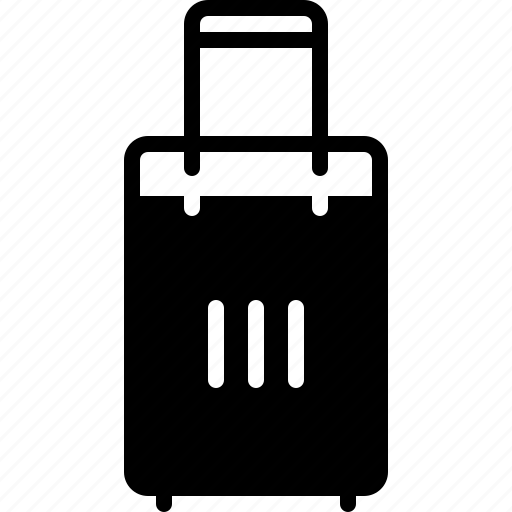 accessories, baggage, insurance, journey, luggage, suitcase, travel icon