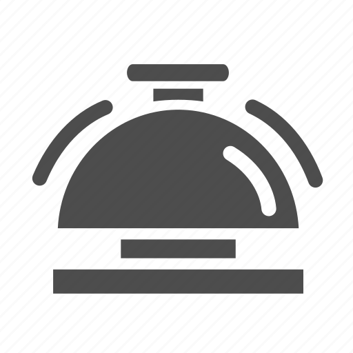bell, hotel, restaurant, service icon