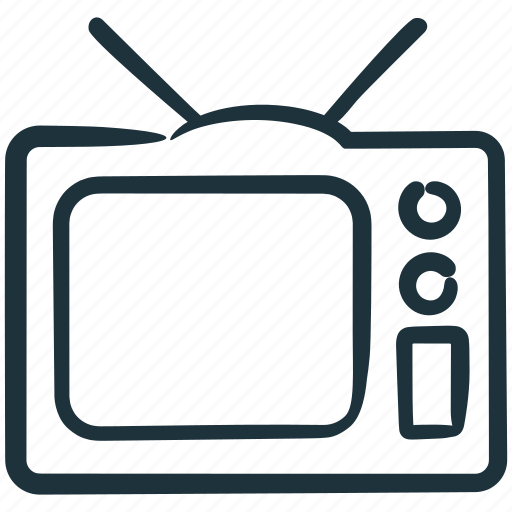 show, television, tv, watch icon