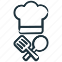 chef, cook, cooking, kitchen, spatula, spoon icon
