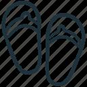 flip flop, flip flops, footwear, sandal, sandals icon