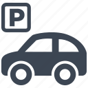 car, garage, parking, traffic, transport, transportation, vehicle icon