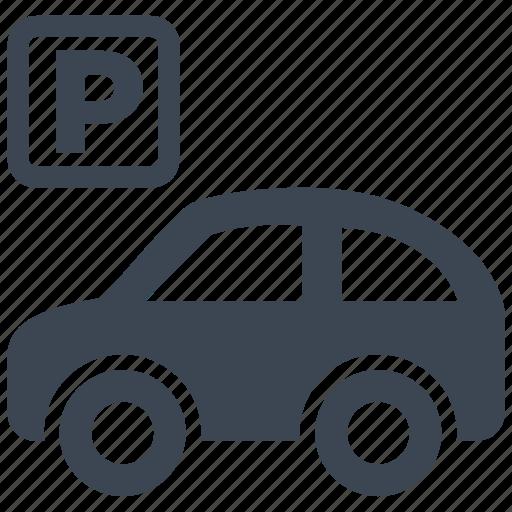 car, garage, parking, traffic, transport, transportation, vehicle icon