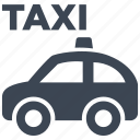 automobile, cab, car, taxi, traffic, transport, travel icon