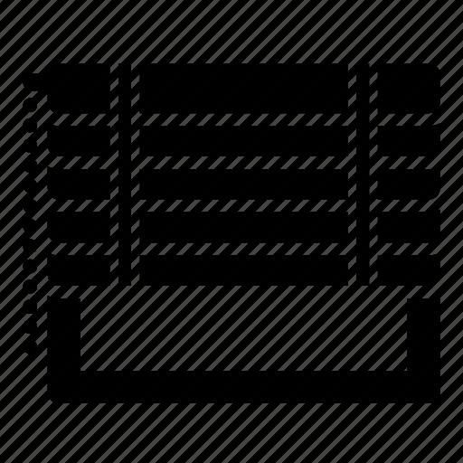 blind, motor, view, window, windows icon